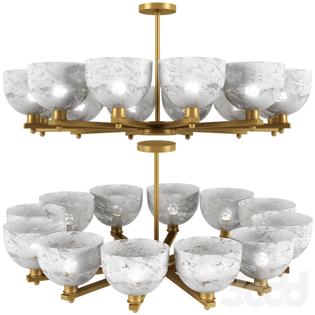 Arteriors Home Silas ANTIQUE BRASS