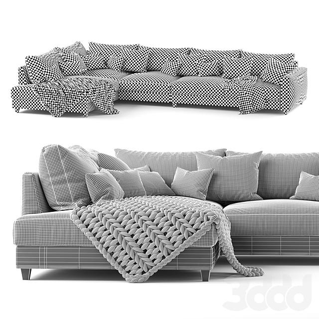 Угловой диван Malte