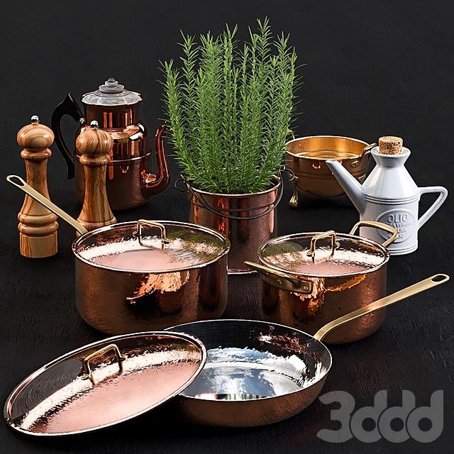 Copper Tableware