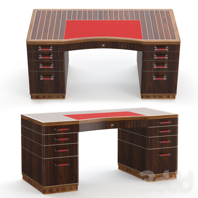 Riviera rouge desk