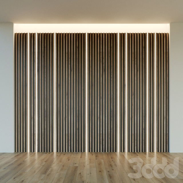 Стеновая панель из дерева. Декоративная стена. 35