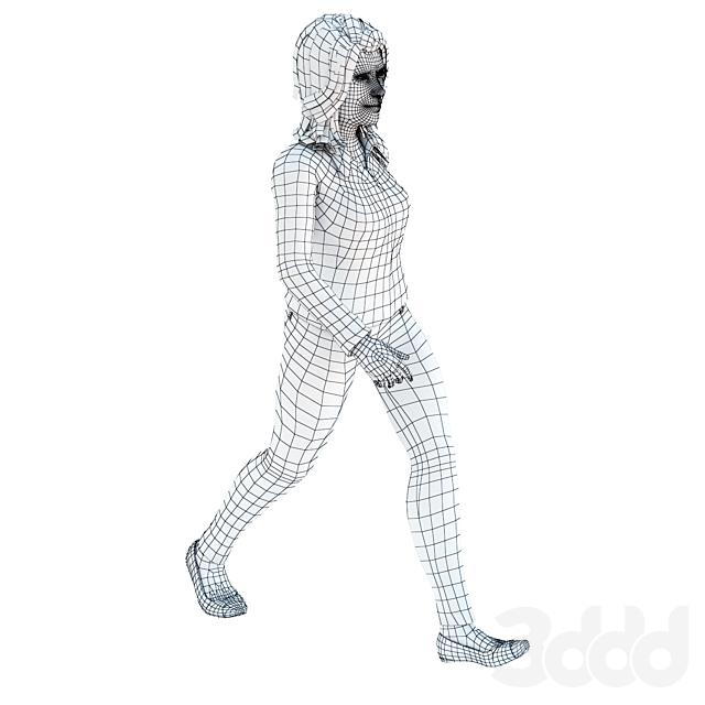 Female Walking 1
