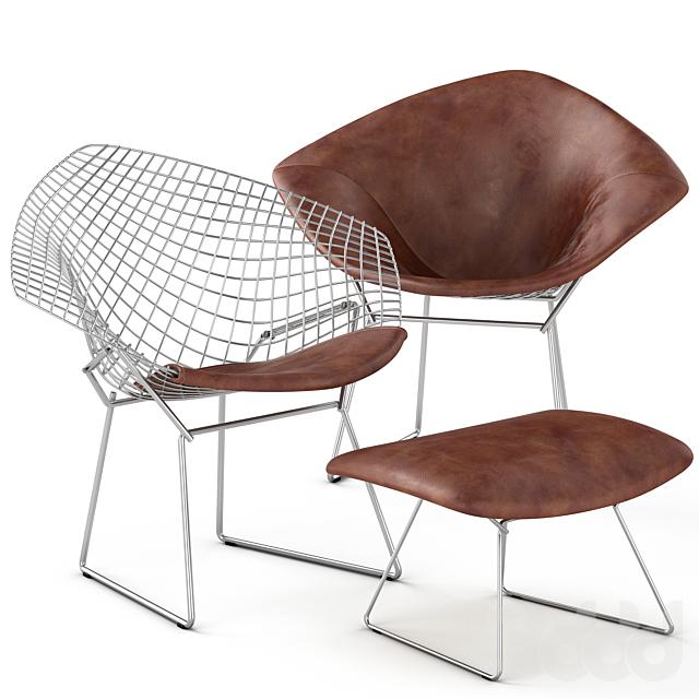 Bertoia Diamond Seat