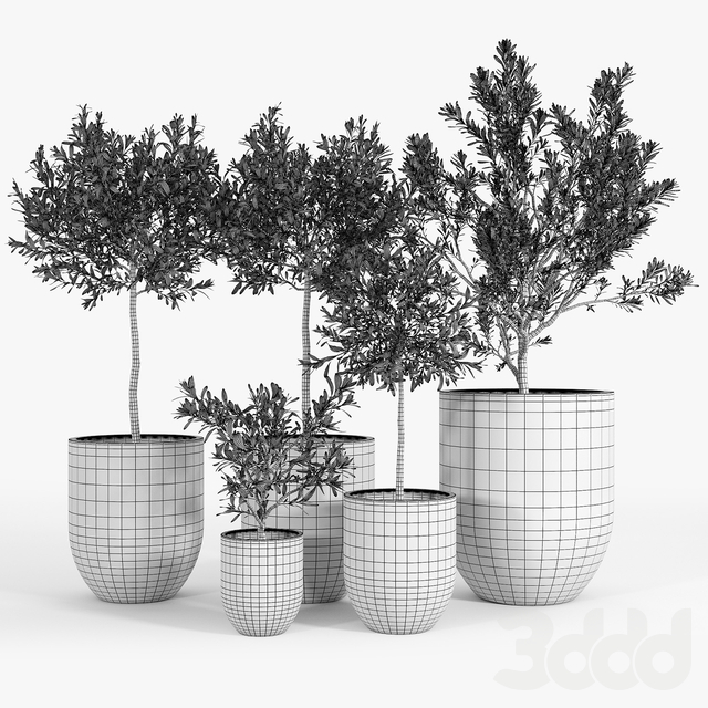 Neo Planter, Extra Small, Lead
