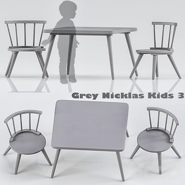Grey Nicklas Kids 3