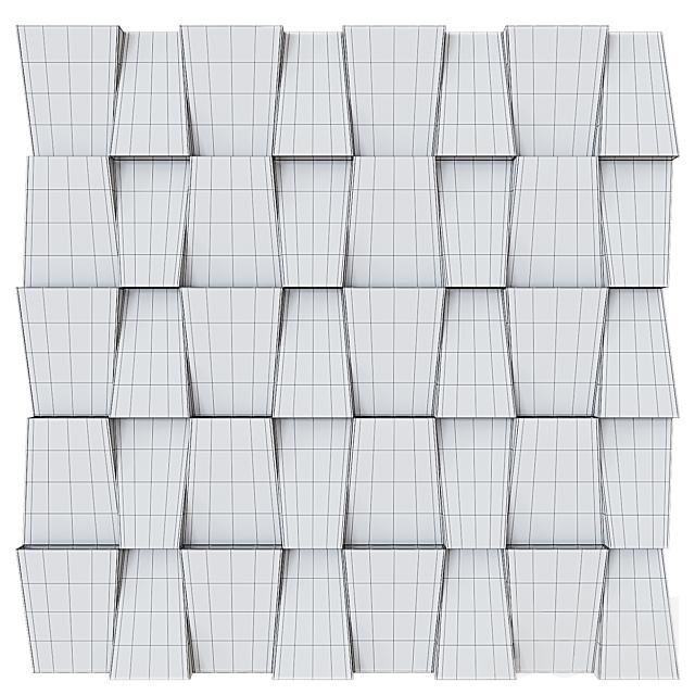 Декоративная стеновая панель 07