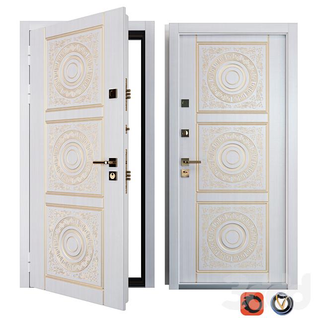 Входная металлическая дверь Вежа 6 (Ваша Рамка)