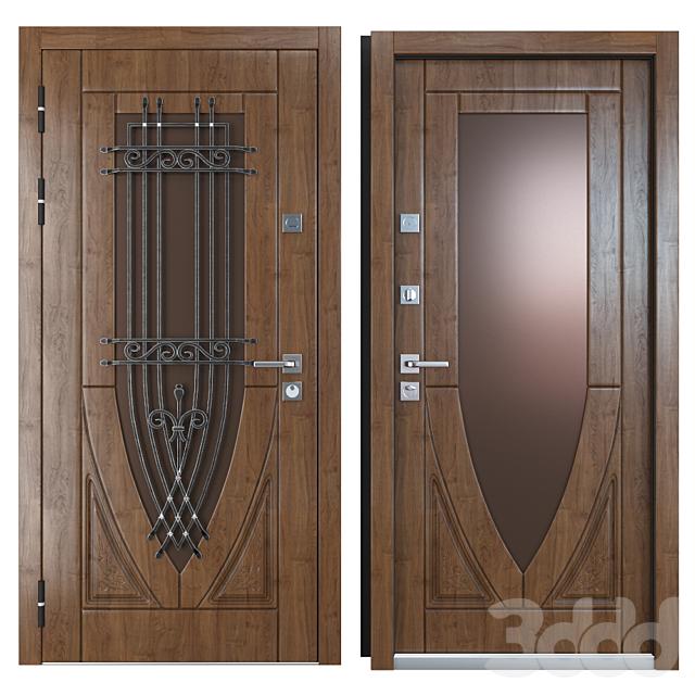 Входная металлическая дверь Вежа 9 (Ваша Рамка)