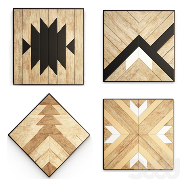 Geometric Ethnic Wall Decoration
