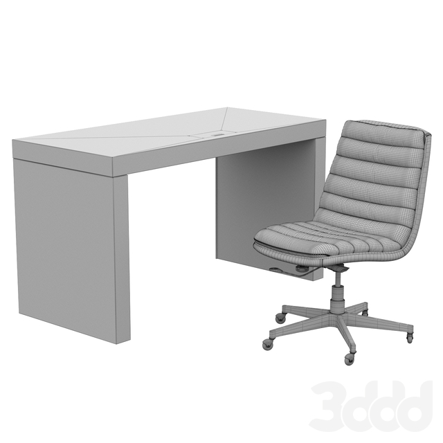 Hooker Furniture House Blend Desk and Chair