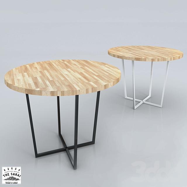 """(OM) Круглый стол """"Oak Round"""""""