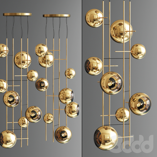 Bolle Gold Lighting Set