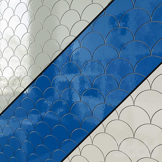 Керамическая плитка для стен EQUIPE SCALE Fan 2