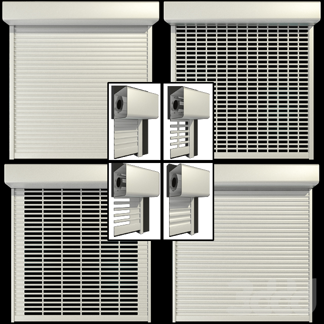 Роллставни / Roll shutter systems