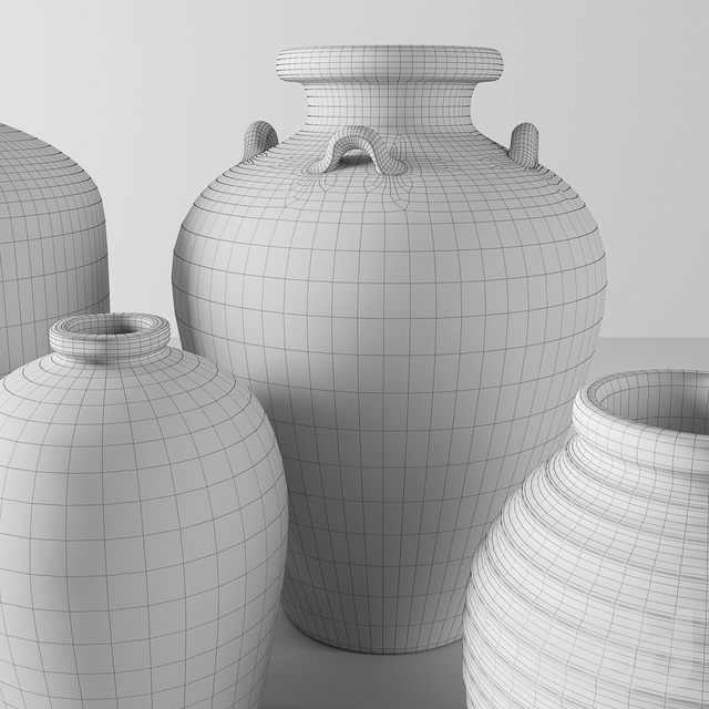 RH vases collection