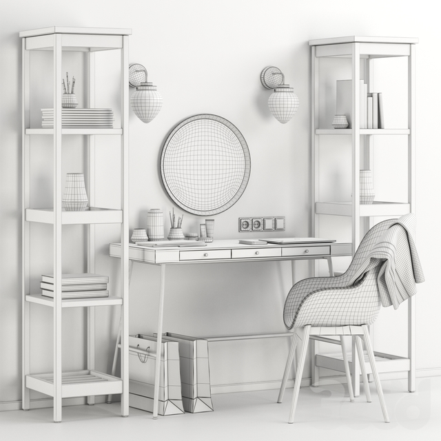 Women's Ikea dressing table and workplace