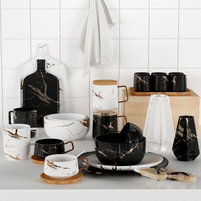 Kitchen Decorative set #4