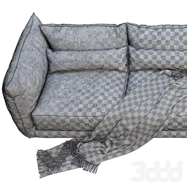 Montauk Jane fabric sofa
