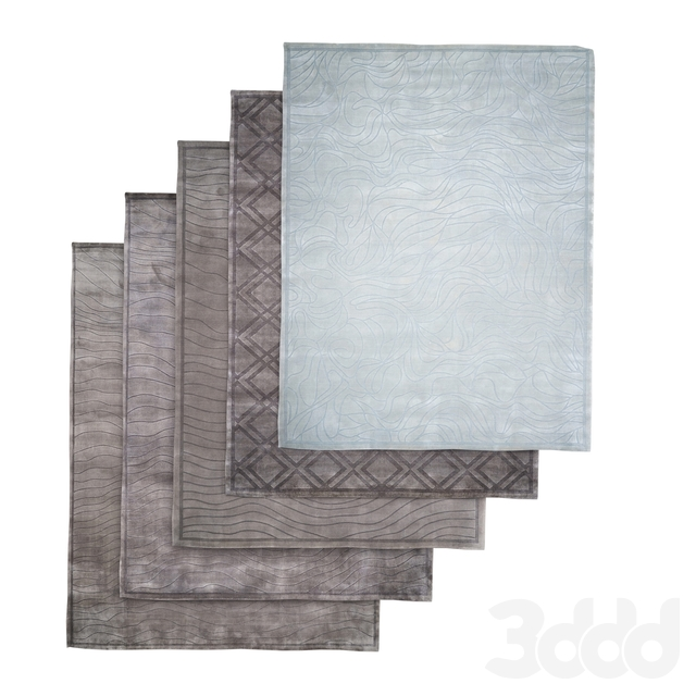 Ansy carpets set 5