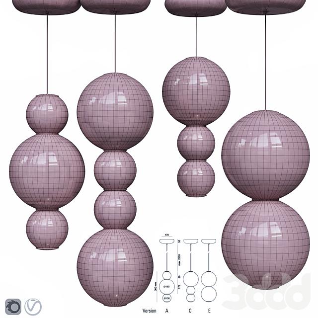 Formagenda Pearls Suspension Pendant Lamp v.2
