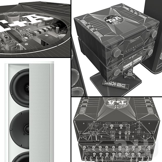 Акустическая система T+A. MP 3100 HV  PA 3100 HV.