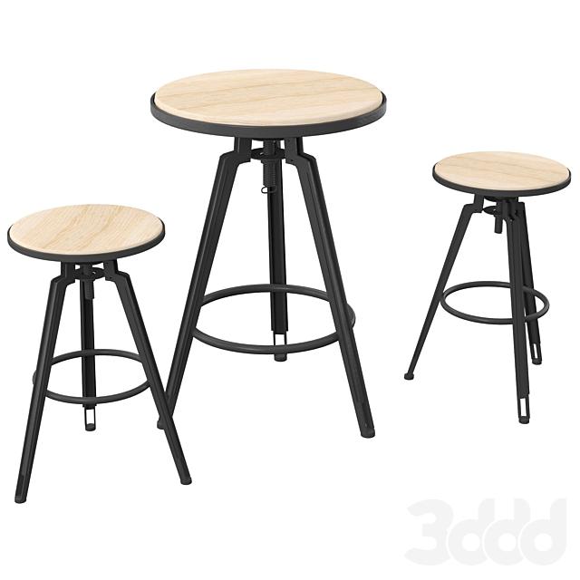 Branchville Bar Set