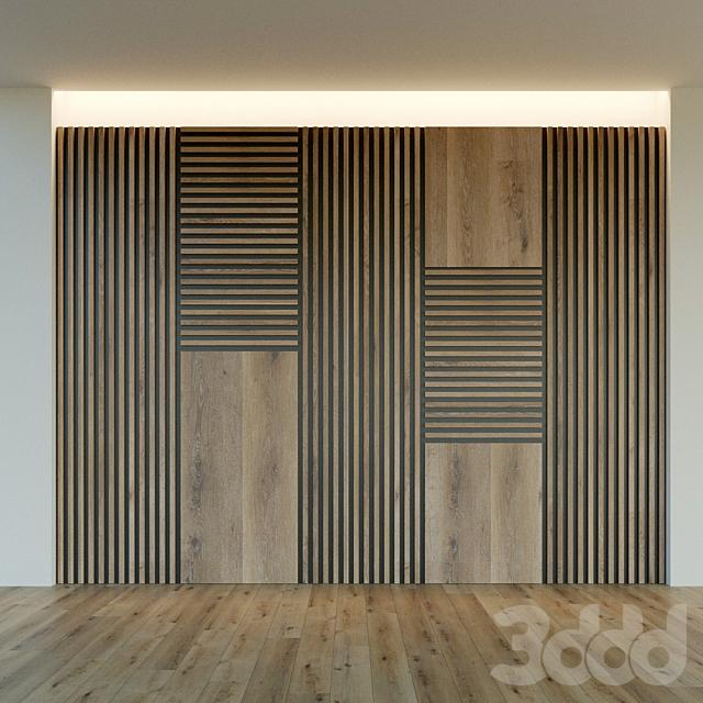 Стеновая панель из дерева. Декоративная стена. 43