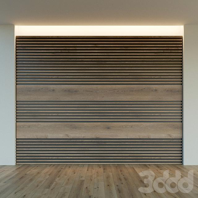 Стеновая панель из дерева. Декоративная стена. 45