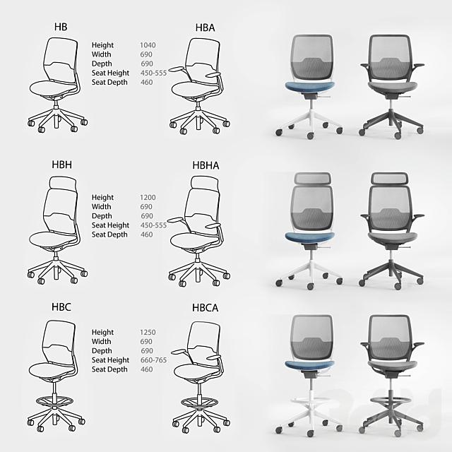EVA HB Task Chair by Orangebox