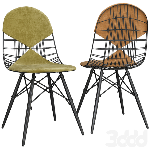 Chair Wire DKW-2 Vitra