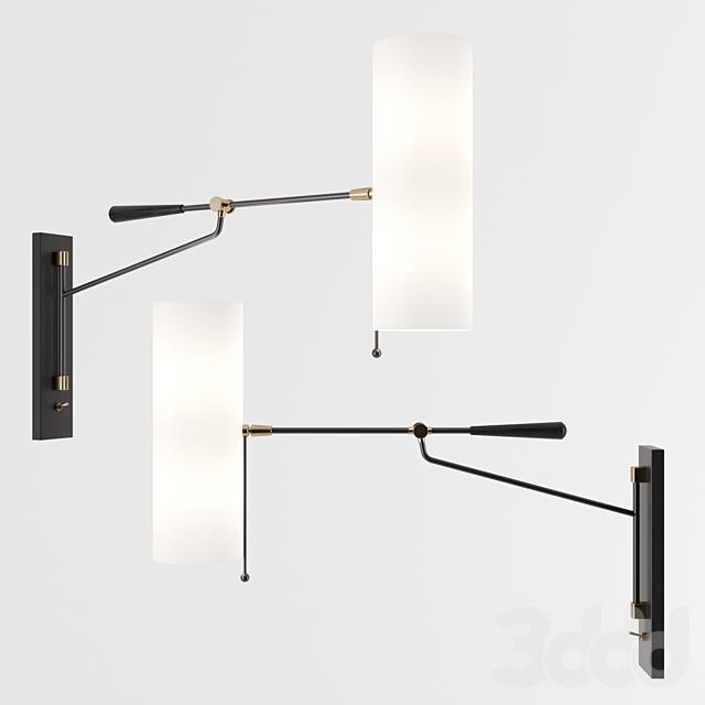Frankfort Articulating Wall Light by Circa Lighting