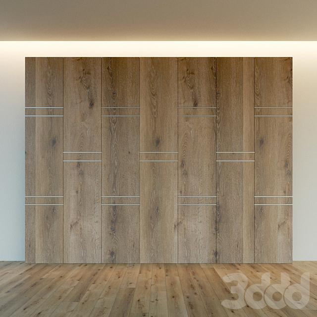 Стеновая панель из дерева. Декоративная стена. 54