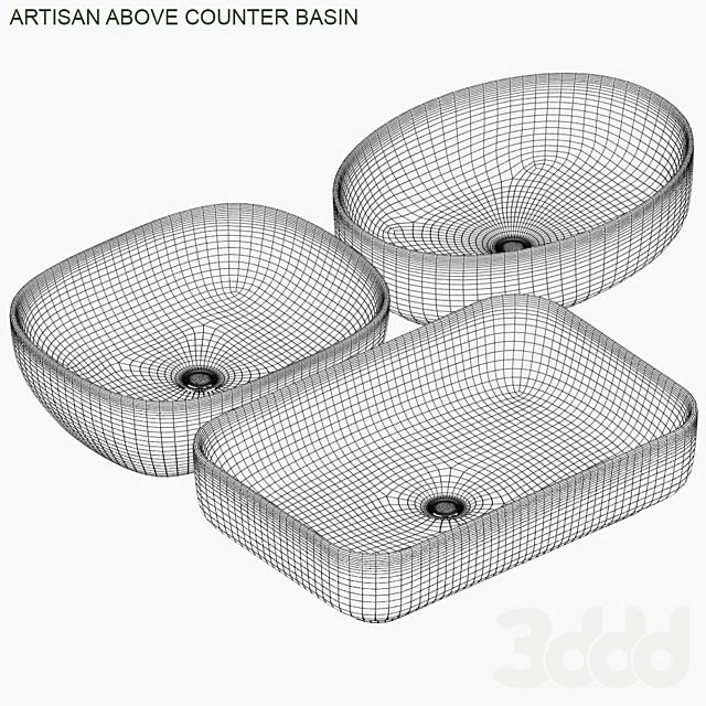 Bathroom collections : Artisan above counter basin #2