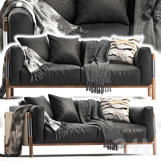 GIORGETTI URBAN 2 seater sofa