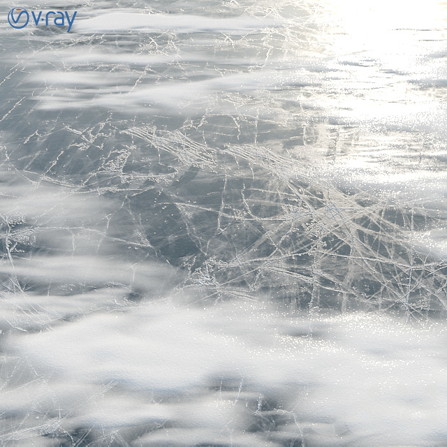 Лёд со снегом