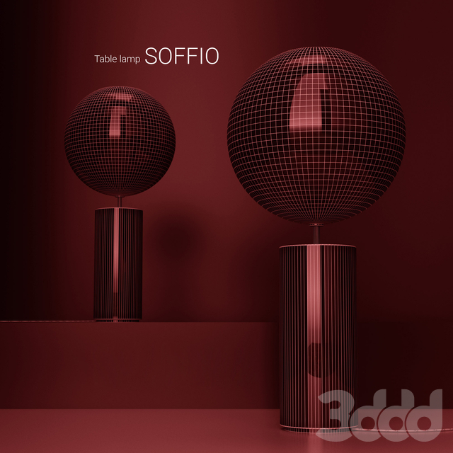 Giopato & Coombes Bolle Soffio table lamp