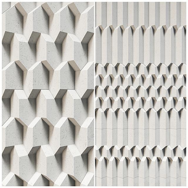 3D Panels Giovanni Barbieri Trifaces