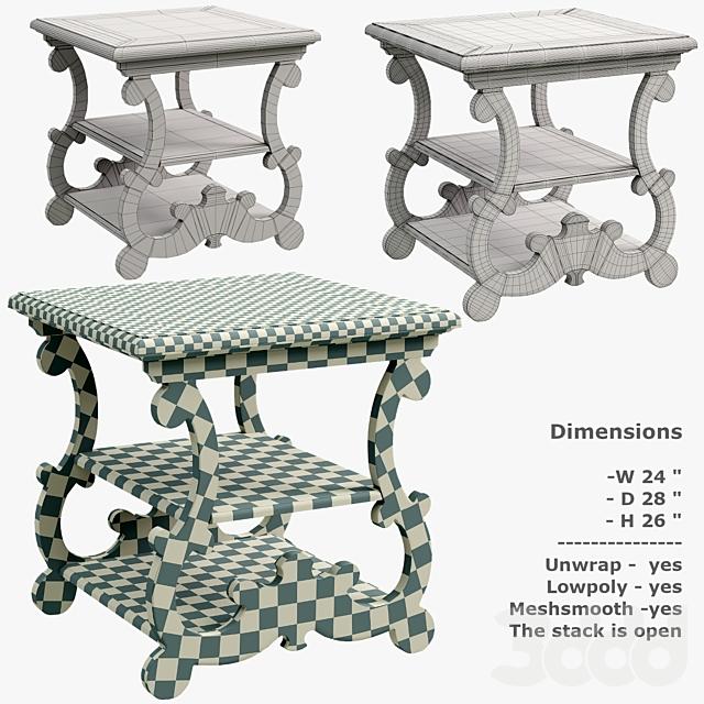 Hooker Furniture Treviso End Table 5374-80113