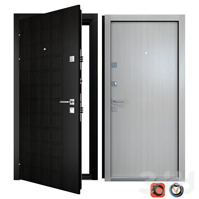 Входная металлическая дверь Grid (Zimen)