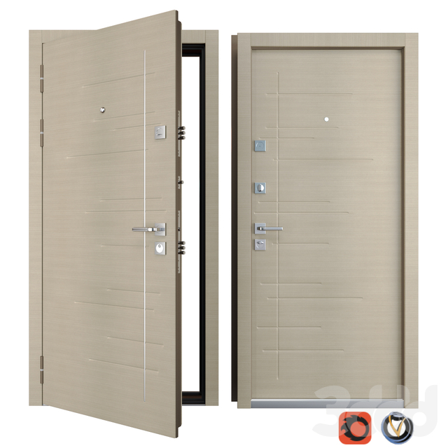 Входная металлическая дверь Malena (Zimen)