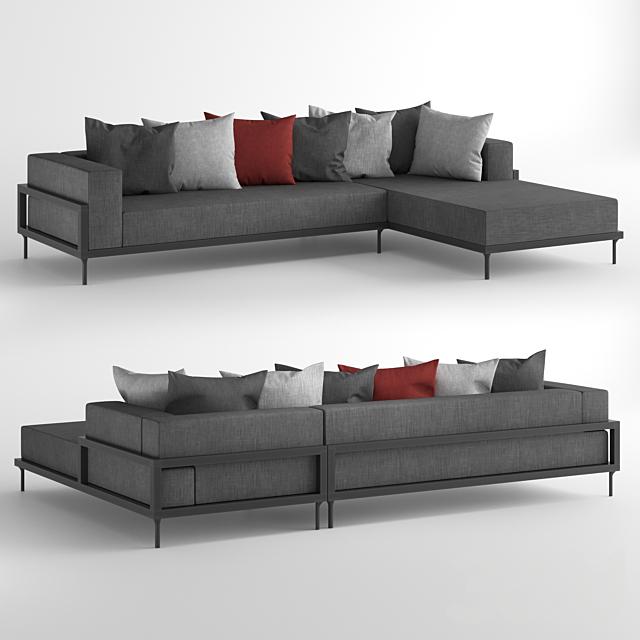 Talenti Cleo Alu Modular Sofa / Модульный диван