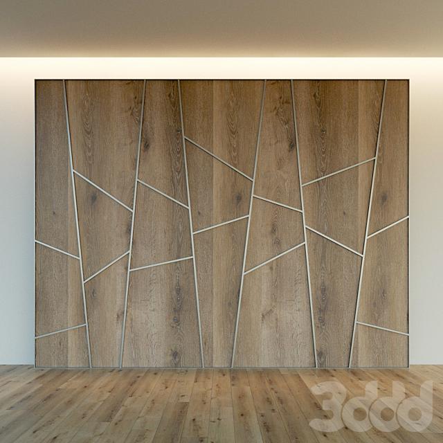 Стеновая панель из дерева. Декоративная стена. 56