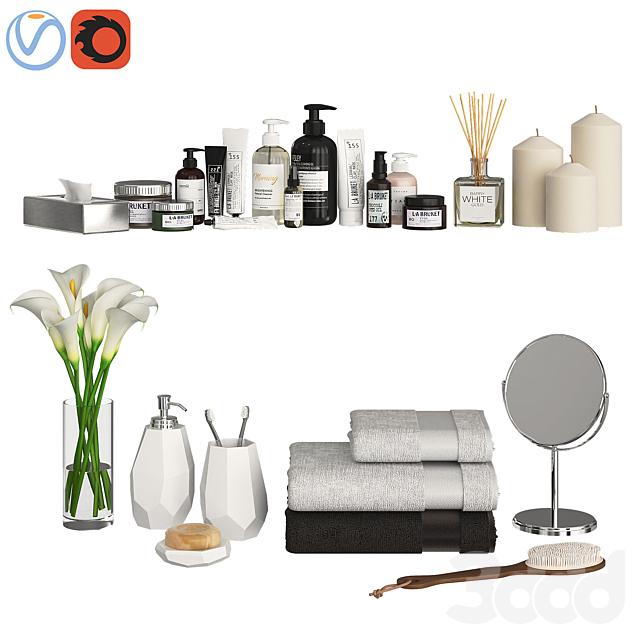 Bathroom Decor Accessories and Cosmetics