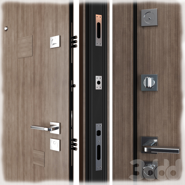 Входная металлическая дверь Inkanta (Zimen)