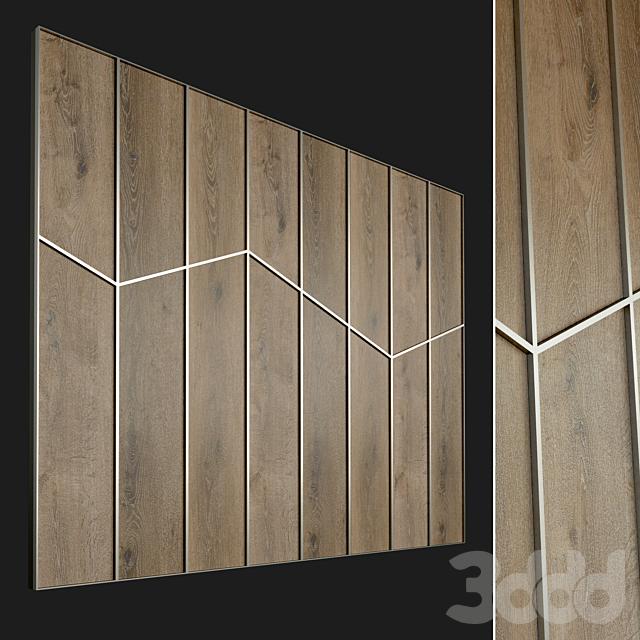 Стеновая панель из дерева. Декоративная стена. 59