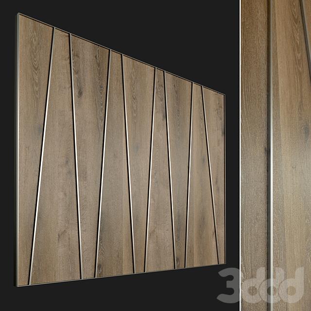Стеновая панель из дерева. Декоративная стена. 67