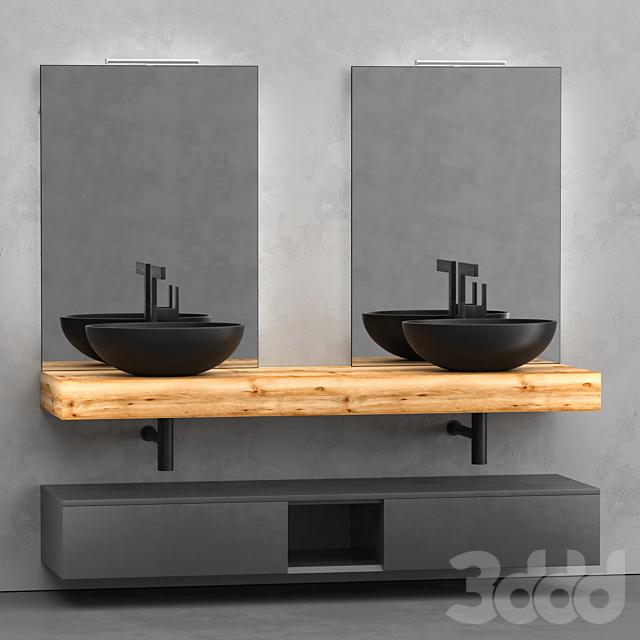 Мебель для ванной Style Loetra