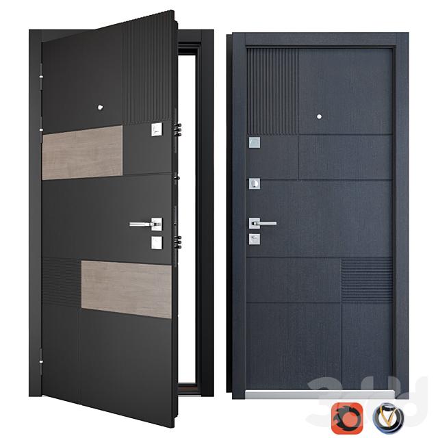 Входная металлическая дверь Tango (Zimen)