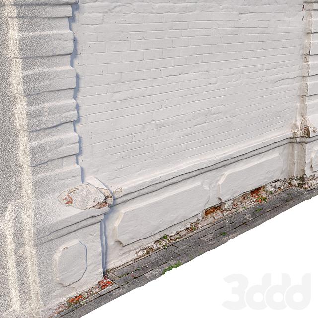 Стена кирпичная 14