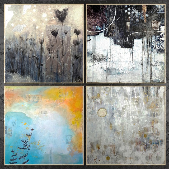 Paintings abstract | set 462